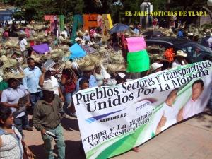 marcha transporte Diego