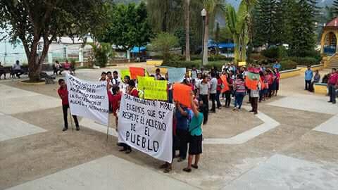 Protesta Iliatenco